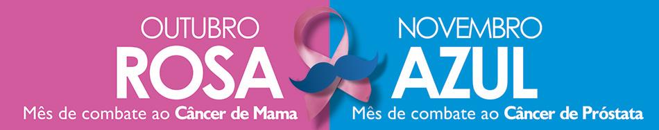 Campanha Outubro Rosa x Novembro Azul