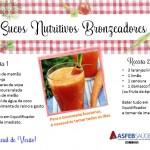 Dicas de Saúde 01 - Sucos Nutritivos Bronzeadores