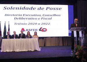 Posse da Nova Governança (2020 a 2022) e 40 Anos da Asfeb